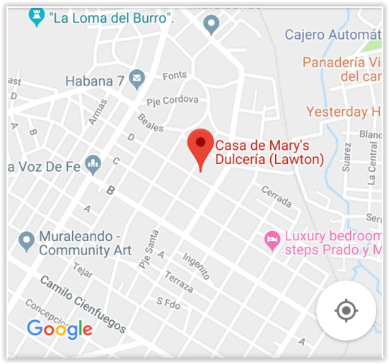 Casa de Mary's Dulcería