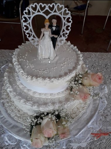 Mary's Dulcería - Cake de Bodas