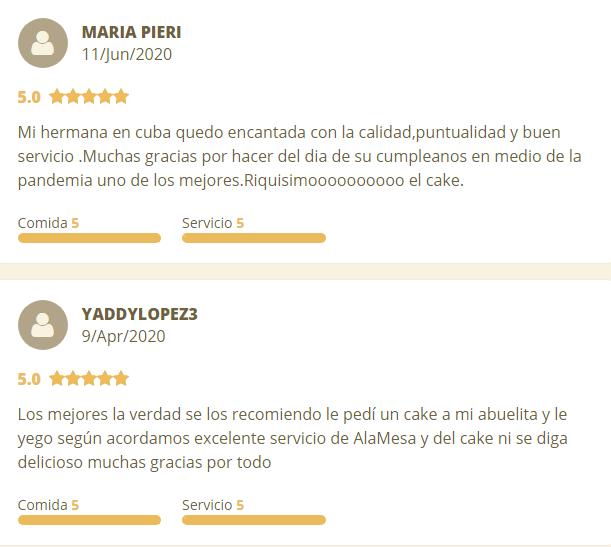Mary's Dulceria - Reviews from Bombón Cake