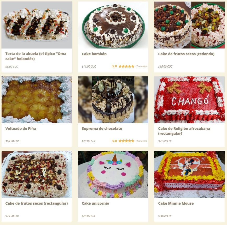 Mary's Dulceria - 1-9 x cakes Alamesa-es